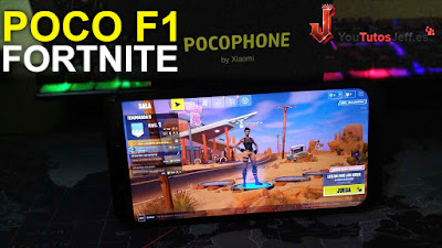 Fortnite en Pocophone F1 - Fortnite Android