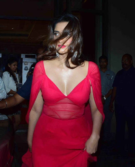 Sonam Kapoor Hot Cleavage