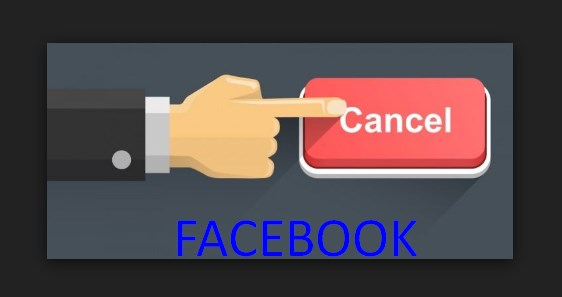 How to cancel your facebook account