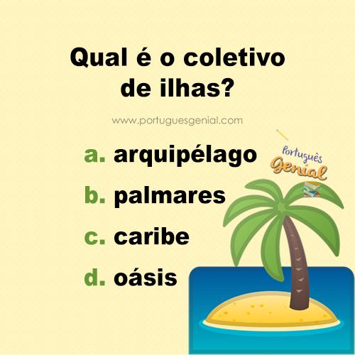 Coletivo de ilhas - Qual é o coletivo de ilhas?
