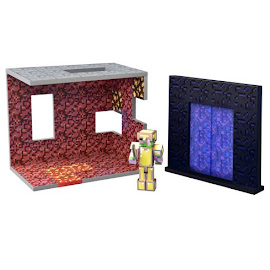 Minecraft Nether Biome Survival Mode Figures
