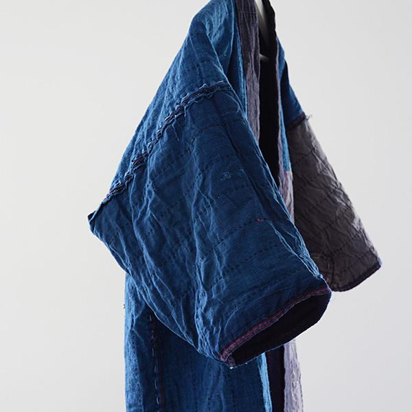 FUNS福島古着アンティークジャパンヴィンテージ20~40年代刺し子藍染野良着襤褸BOROアイヌ