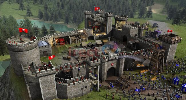 لعبة صلاح الدين Stronghold 2
