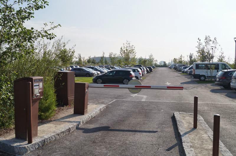 parking mont saint Michel, aparcar en monte San Michel
