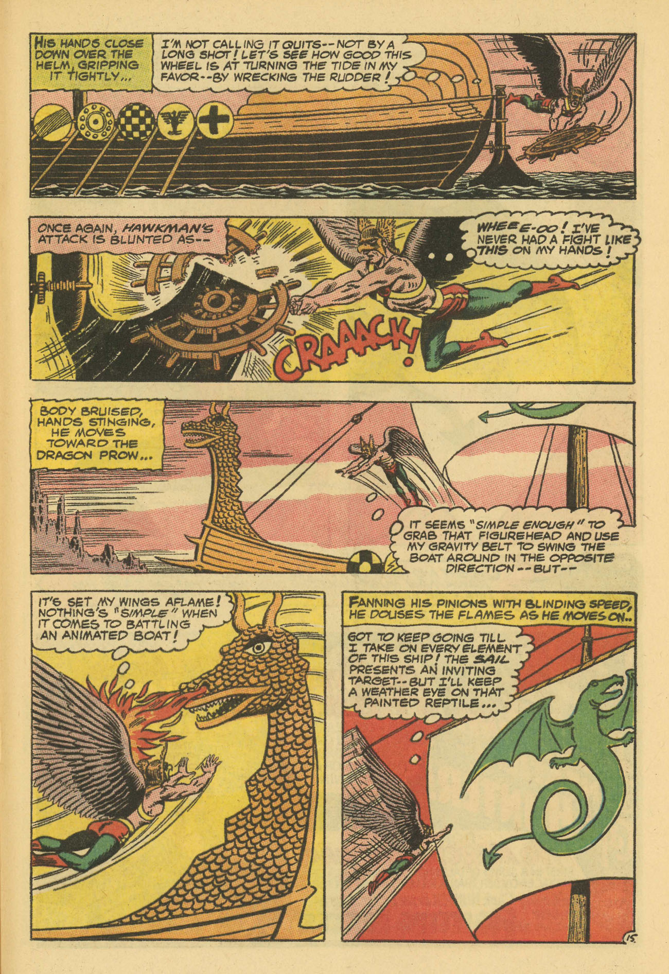 Hawkman (1964) issue 13 - Page 21