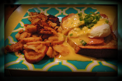 Huevos Benedictinos en The Friendly Toast de Cambridge