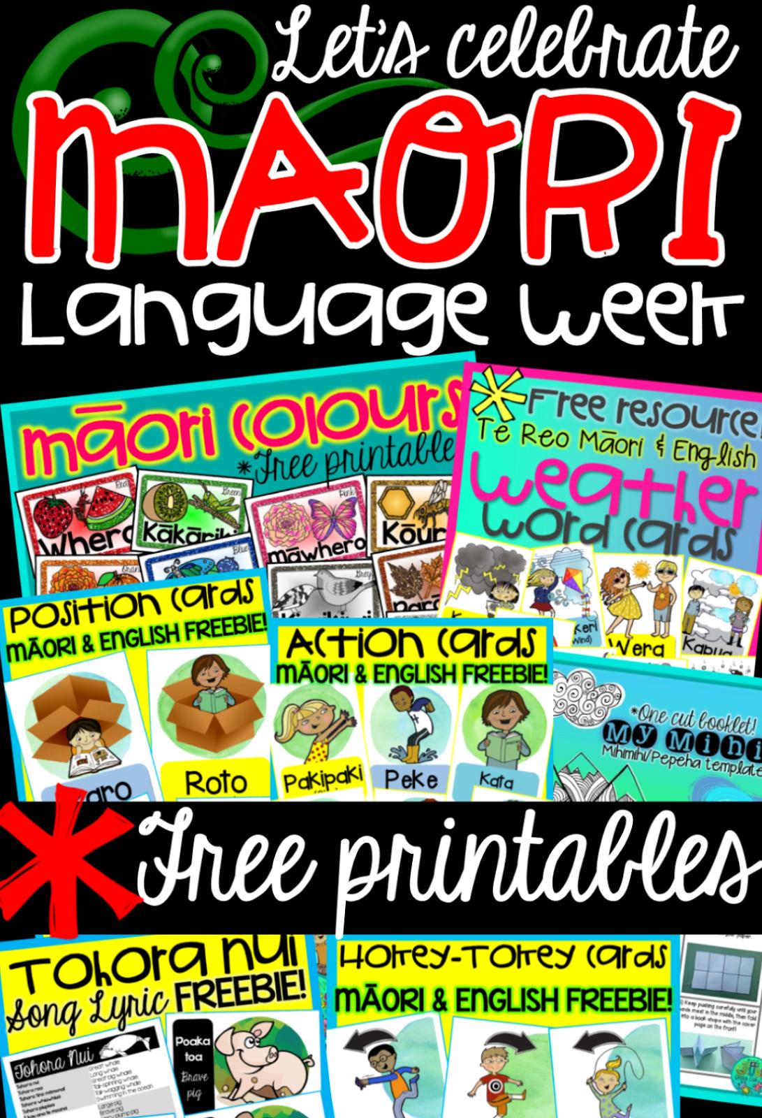 Green Grubs Garden Club Let S Celebrate M Ori Language Week
