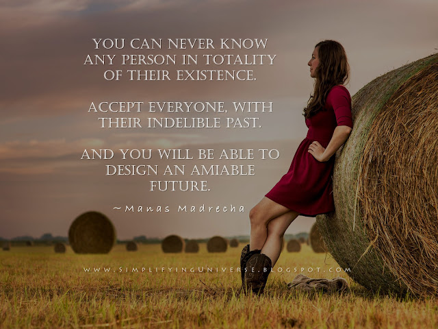 manas madrecha acceptance quotes, girl summer field, woman in red, make a better future, haystack girl, simplifying universe, self help inpiration motivation blog