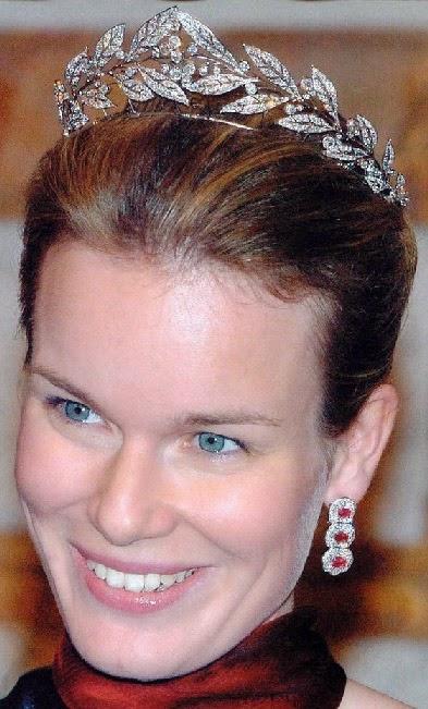 Tiara Mania Queen Mathilde Of Belgium S Laurel Wreath Tiara