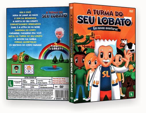 A Turma Do Seu Lobato Em Novas Aventuras DVD-R
