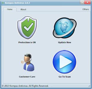 تنزيل برنامج مكافحة الفيروسات مجانا Kompas Antivirus