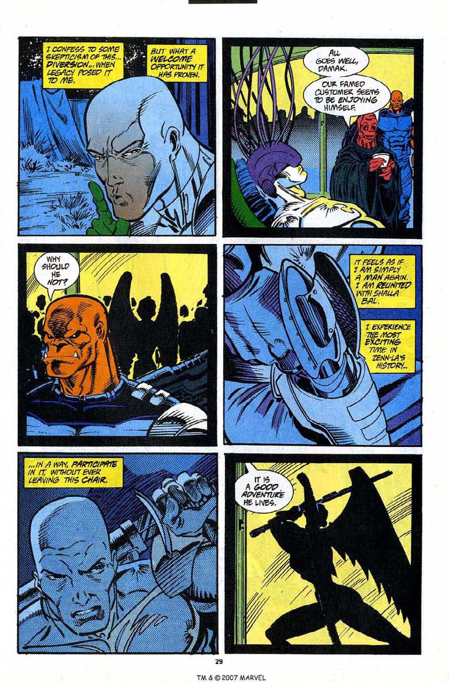Read online Silver Surfer (1987) comic -  Issue #91 - 31