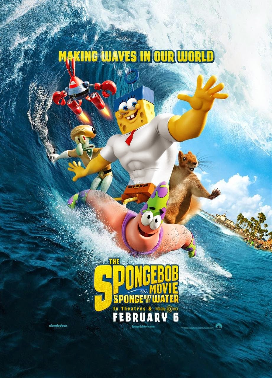 The SpongeBob Movie Sponge Out of Water American Animated Comedy Film