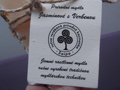 Mydlo jasmínové s verbenou