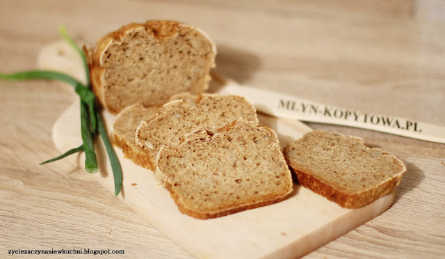 Chleb żytni z mąki Młyn Kopytowa