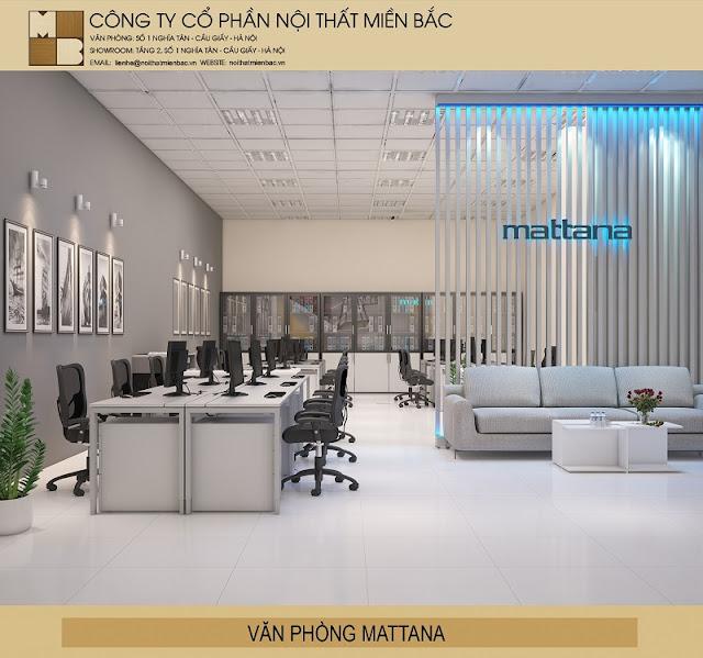 Các chủ đầu tư nên lựa chọn những màu sắc nội thất văn phòng thật hài hòa với không gian văn phòng.