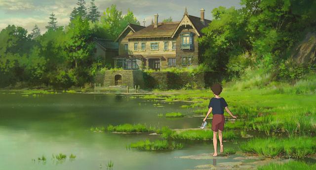 Película El Recuerdo de Marnie de Studio Ghibli, dirigida por Hiromasa Yonebayashi en el año 2014