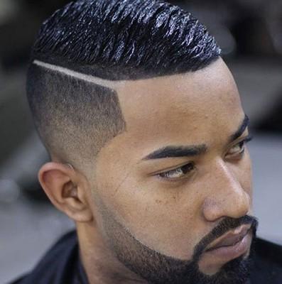 style rambut garis pinggir
