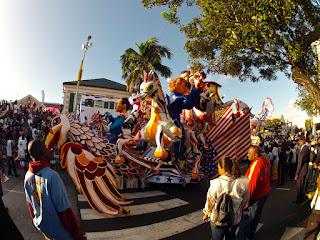 Junkanoo Festival, Bahamas parade