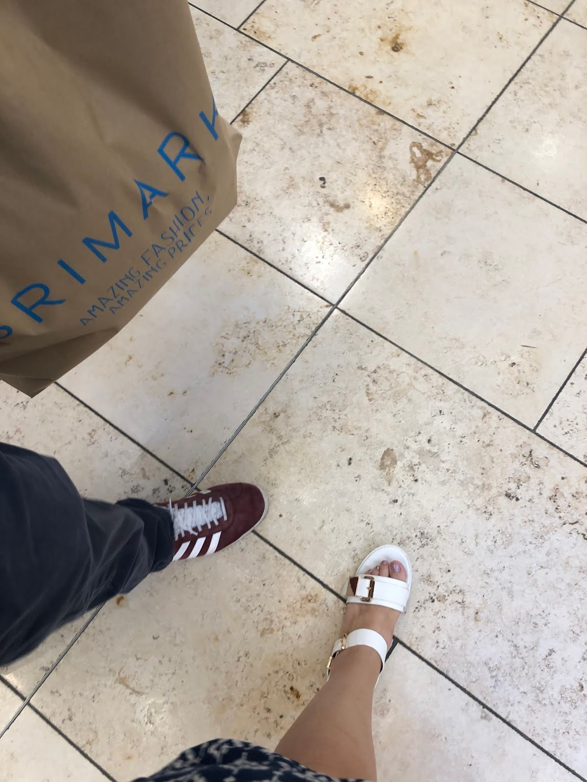 Couples Holiday Shopping Trip to Primark