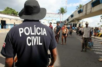 Polícia realiza operação conjunta na Ilha de Itaparica; há mortos e feridos