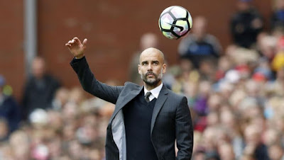 Pep Guardiola Jadi Manager Of The Month 2017
