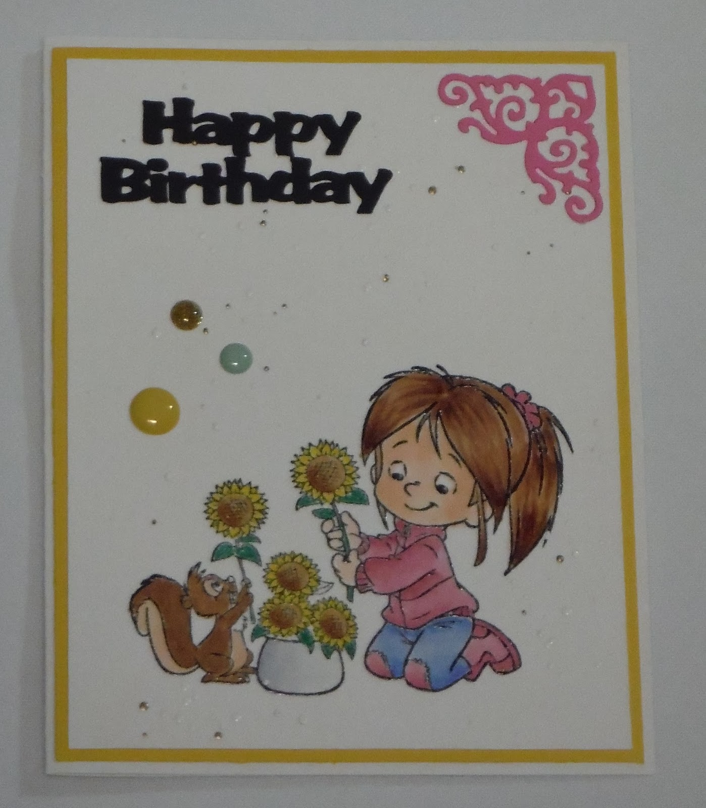HAVE A SCRAP HAPPY DAY Happy Birthday Colleen