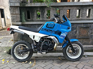 Dijual Trail Mini RETRO YAMAHA TDR50cc no paper