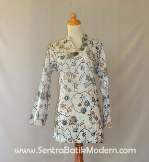 Model Baju Batik Modern Terbaru Disukai