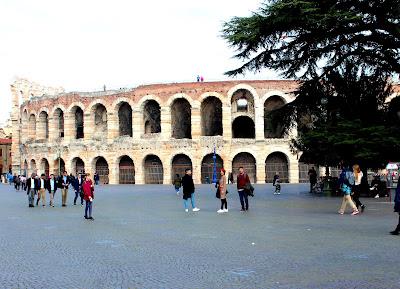 Anfiteatro romano La Arena en Verona
