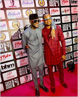 New Photo Of 2face And Faze Together As 2face Flagged Off 20th Year On Stage