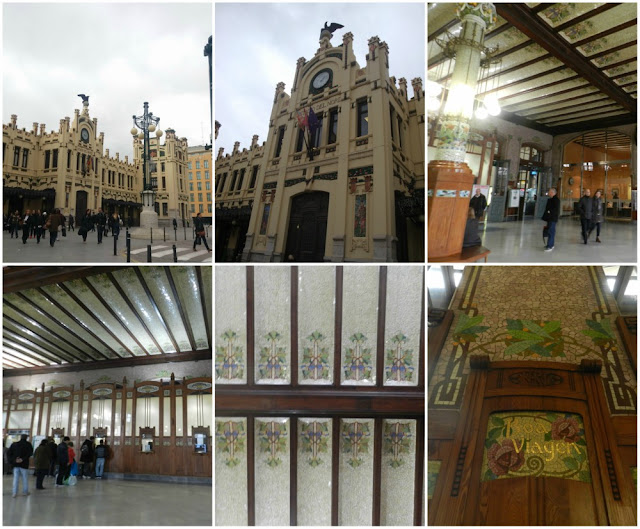 Modernismo em Valência - Estació del Nord
