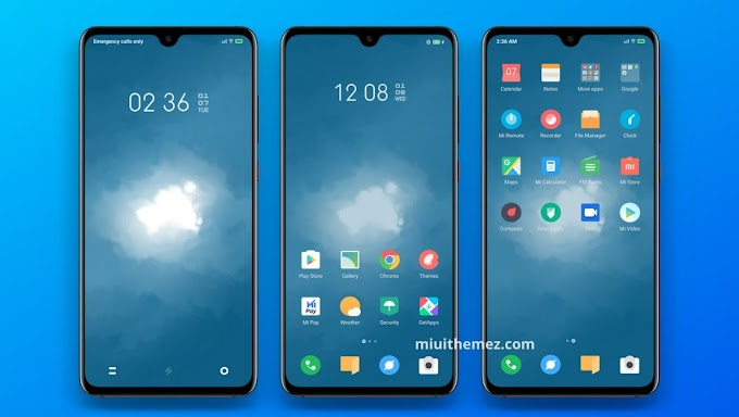 The Most Beautiful MIUI 11 Theme - Blue and Grey MIUI Theme