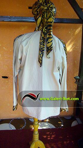 Kemeja Batik Loreng