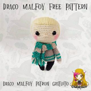 PATRON GRATIS DRACO MALFOY | HARRY POTTER AMIGURUMI 39409