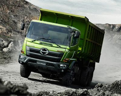 truk hino ranger fm 285 jd (spesial tambang)