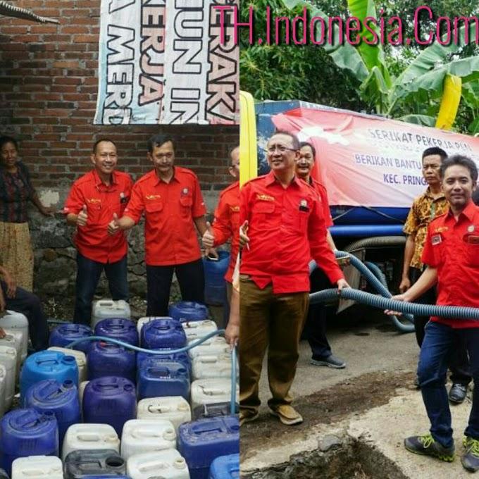 PLN  Disjateng & DIY Bantu Air Bersih di Dusun Legaran Gunung Semarang