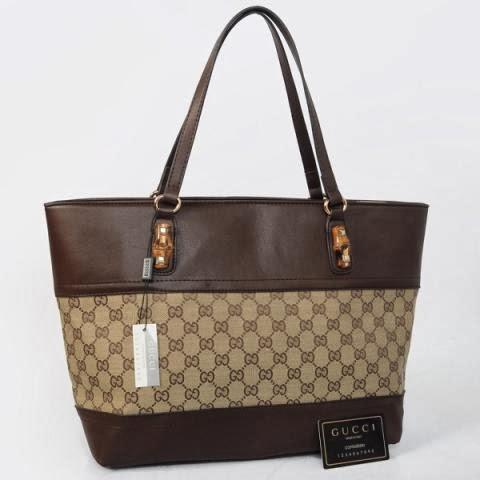 Tasku Tas Branded Tas Gucci Te Bambo Kanvas G Model Terbaru