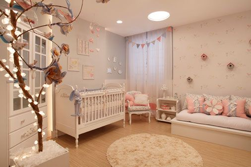 Bellos dormitorios para beb s reci n nacidas dormitorios for Dormitorios bebe nina