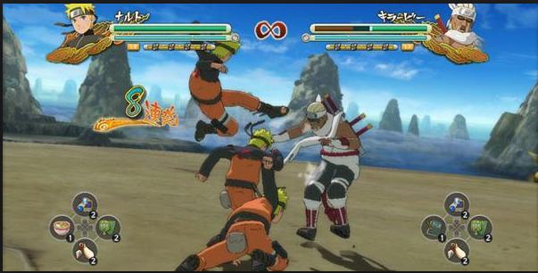 تنزيل لعبة naruto ninja storm 3  للكمبيوتر