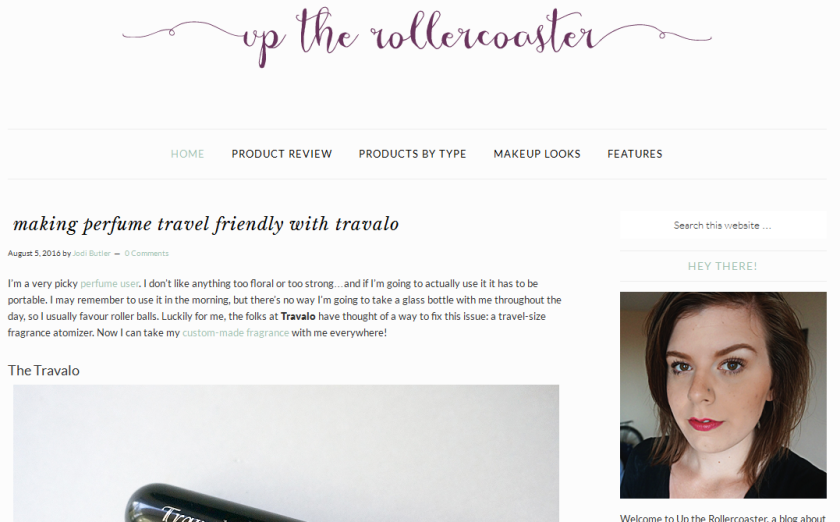 bbloggers, bbloggersca, canadian beauty bloggers, up the rollercoaster blog, blog of the month