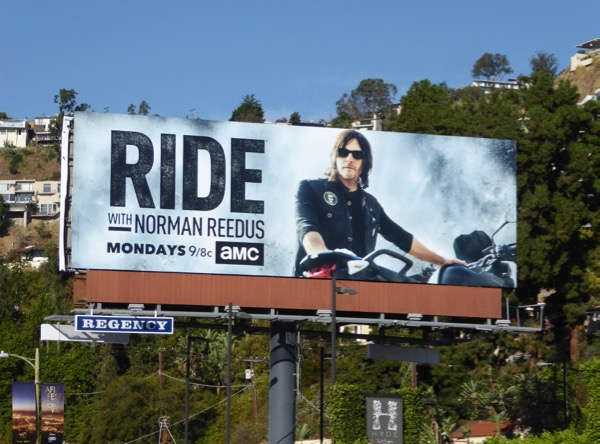 Ride Norman Reedus season 2 billboard