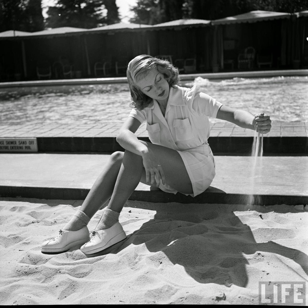 Pictures Of Beautiful Lana Turner In Hollywood, Ca 1940 -5901