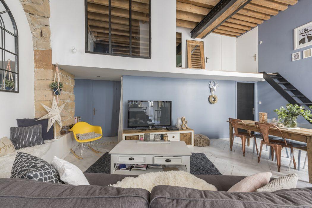 Apartamento ecl ctico de estilo moderno en lyon for Lo ultimo en decoracion de casas