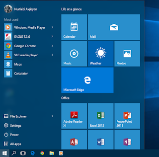 Start Menu - Windows 10