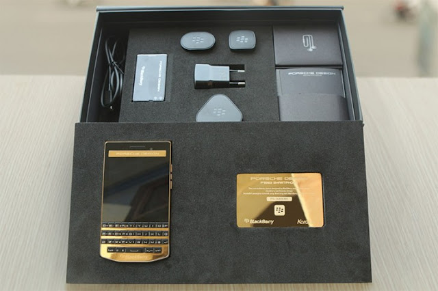 gsmarena_002 $2,440 buys you a gold plated BlackBerry Porsche Design P'9983 from Vietnam Android