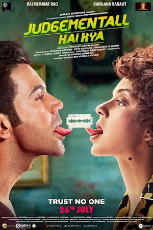 Poster Of Hindi Movie Judgementall Hai Kya 2019 Full FHD Movie Free Download 1080P Watch Online