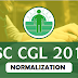 Normalization Will be Applicable in SSC CGL 2018 !!
