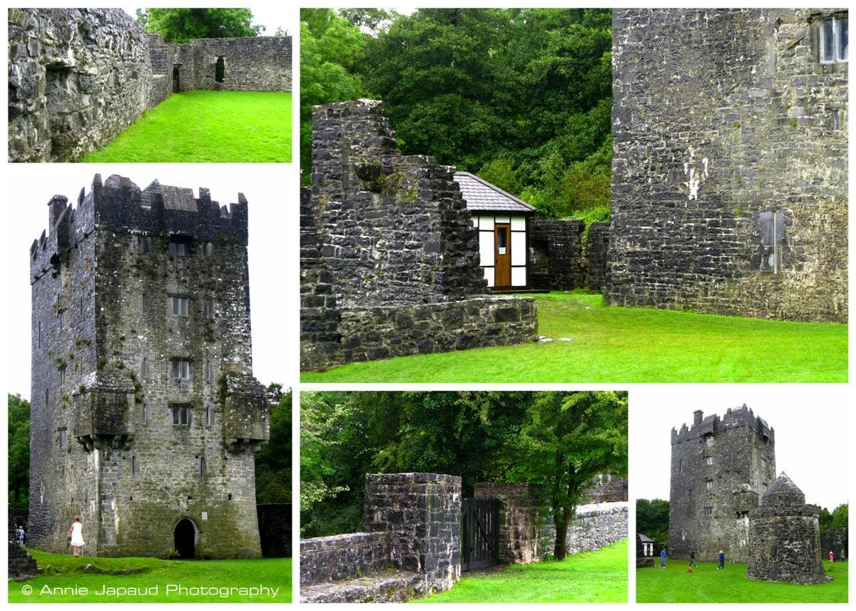 AUGHNANURE CASTLE, Oughterard, Co Galway, Ireland collage