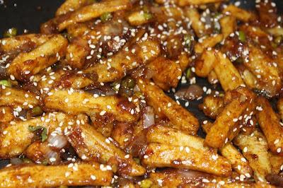 Crispy and juicy Honey chilly potato-हनी चिल्ली पोटैटो,चिली पोटैटो कैसे बनाते हैं